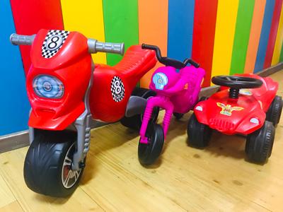 Kiddy-Bikes