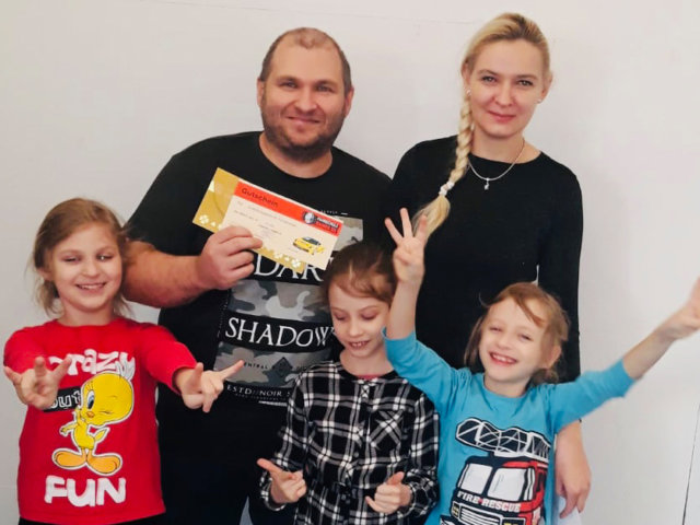 Familie Bernert Dennis Führerschein Header